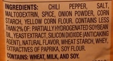 store-bought taco seasoning ingredients