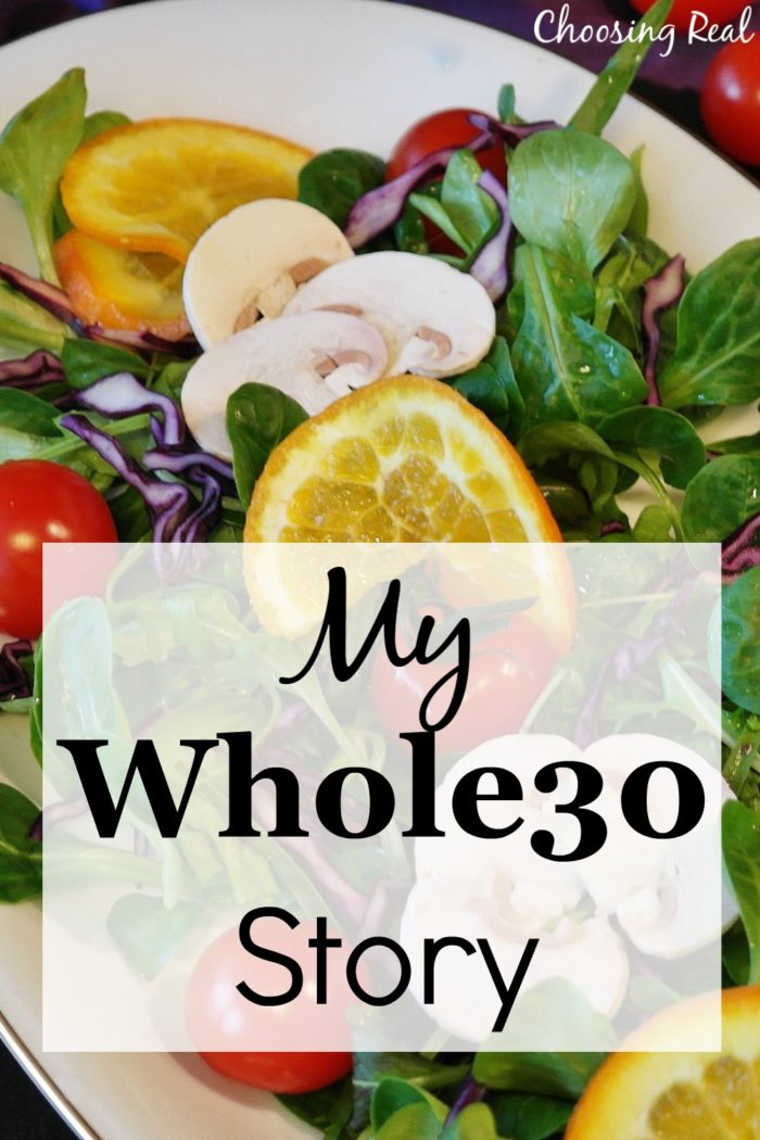 Now that I have completed my first Whole30, I am ready to share my own Whole30 story, what I learned, and what I plan to do going forward.
