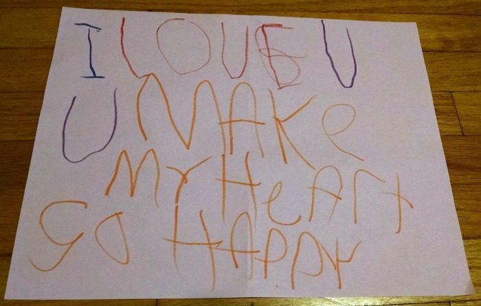 I love U. U make my heart so happy.