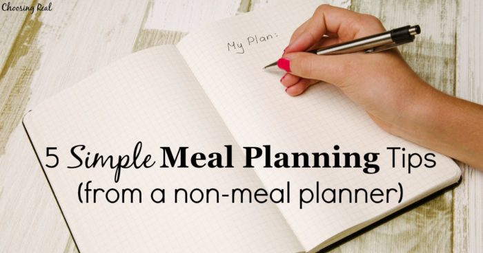 I have been horrible at meal planning in the past, so I have come up with a few simple meal planning tips that work for me. Maybe they will help you too!