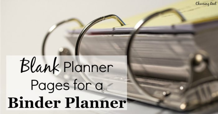 In my quest to find the perfect planner for me, I designed my own blank planner pages that include a monthly calendar, weekly planners, and notes pages.