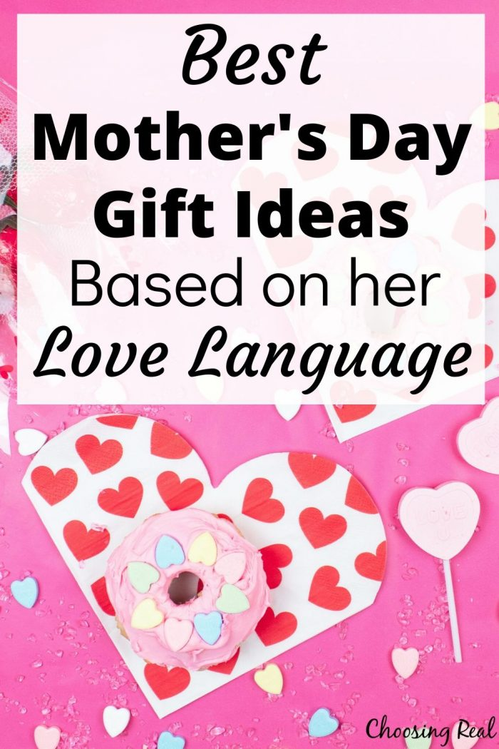 Best Mother's Day Gifts based on Her Love Language, Mother's Day gift ideas